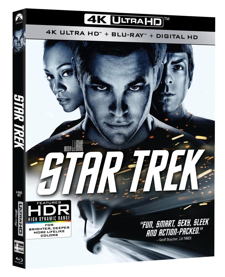 Star Trek 4K Blu-ray
