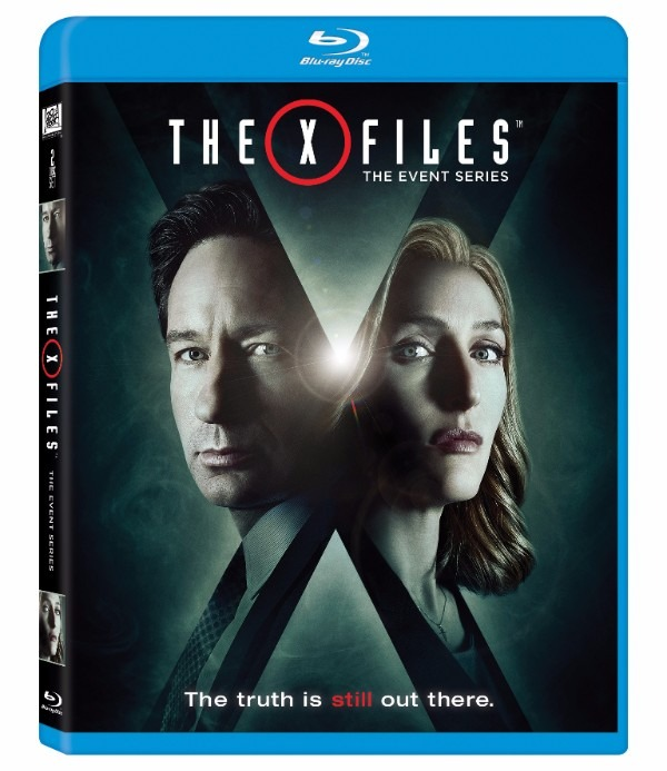 The X-Files Event Series Blu-ray Cover Art