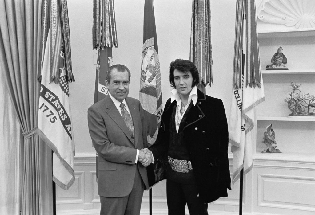 elvis and nixon real