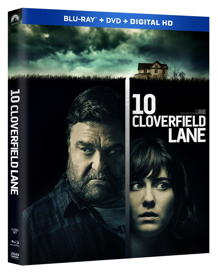 10 Cloverfield Lane Blu-ray Cover Art