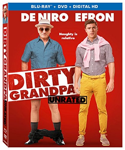 Dirty Grandpa Blu-ray cover