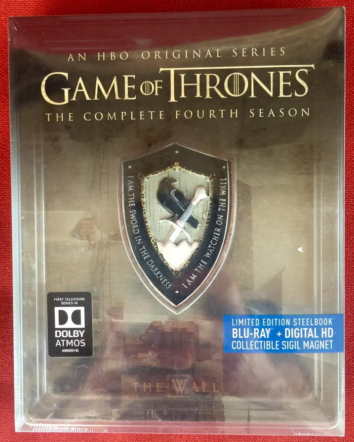 Game of Thrones Season 4 Steelbook Collectors Set 1