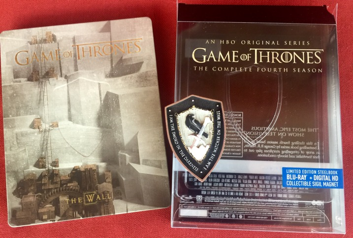 Game of Thrones Season 4 Steelbook Collectors Set 3