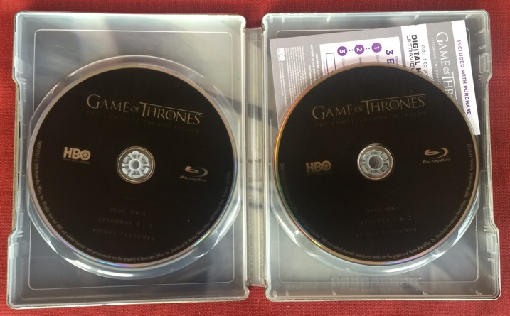 Game of Thrones Season 4 Steelbook Collectors Set 7