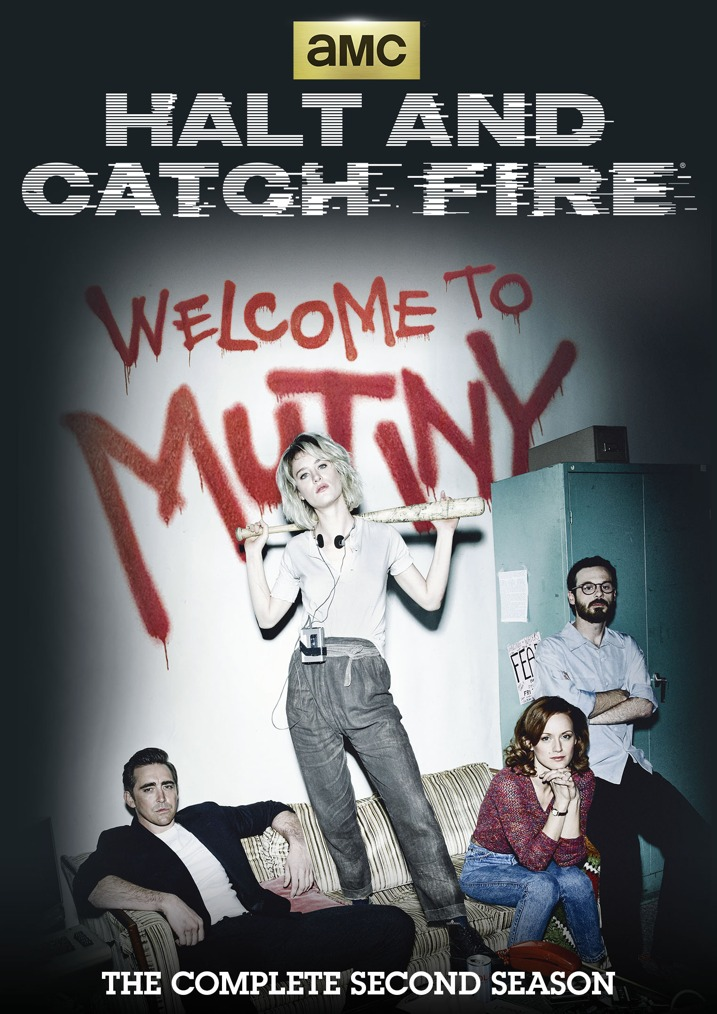 Halt and Catch Fire Secod Season DVD Cover Art