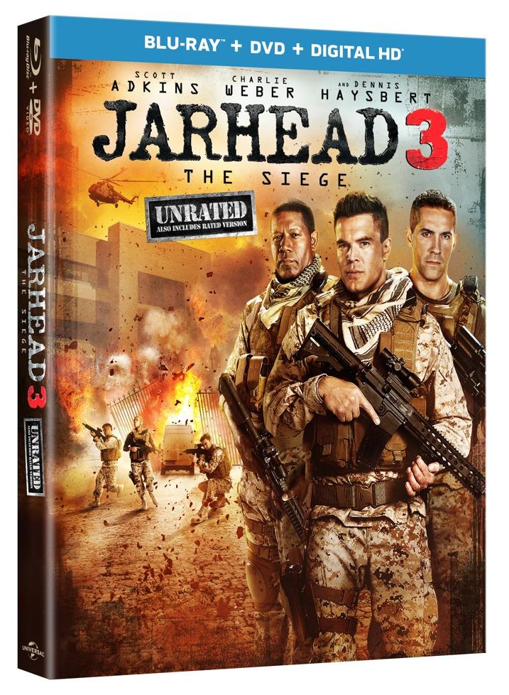 Jarhead 3 Blu-ray Cover