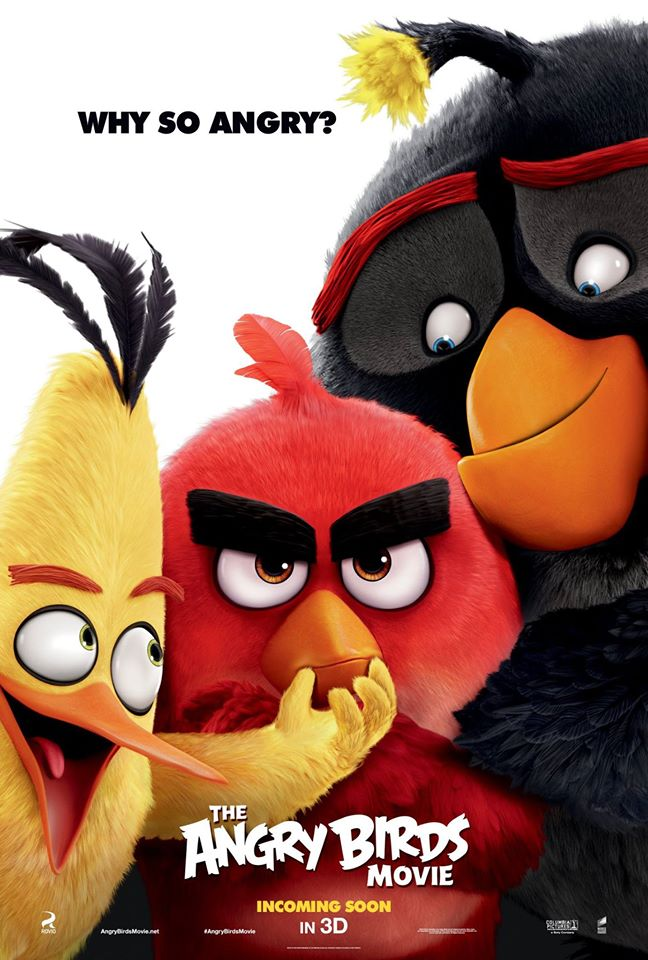 angry birds poster 2