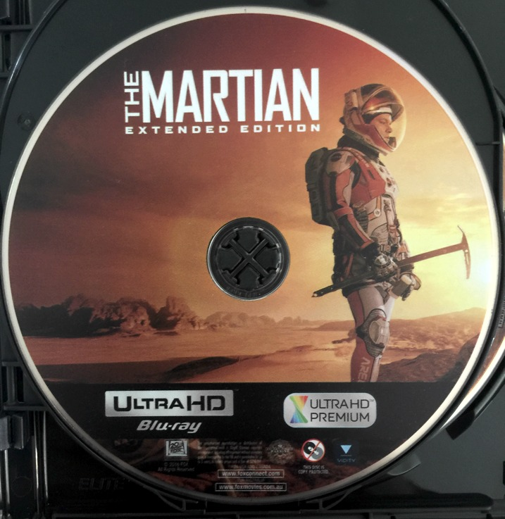 The Martian Extended Edition 4K Blu-ray