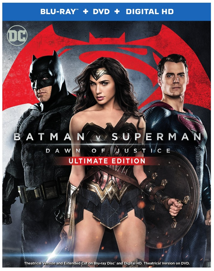 Batman v Super: Dawn of Justice - Ultimate Edition Blu-ray Combo Set