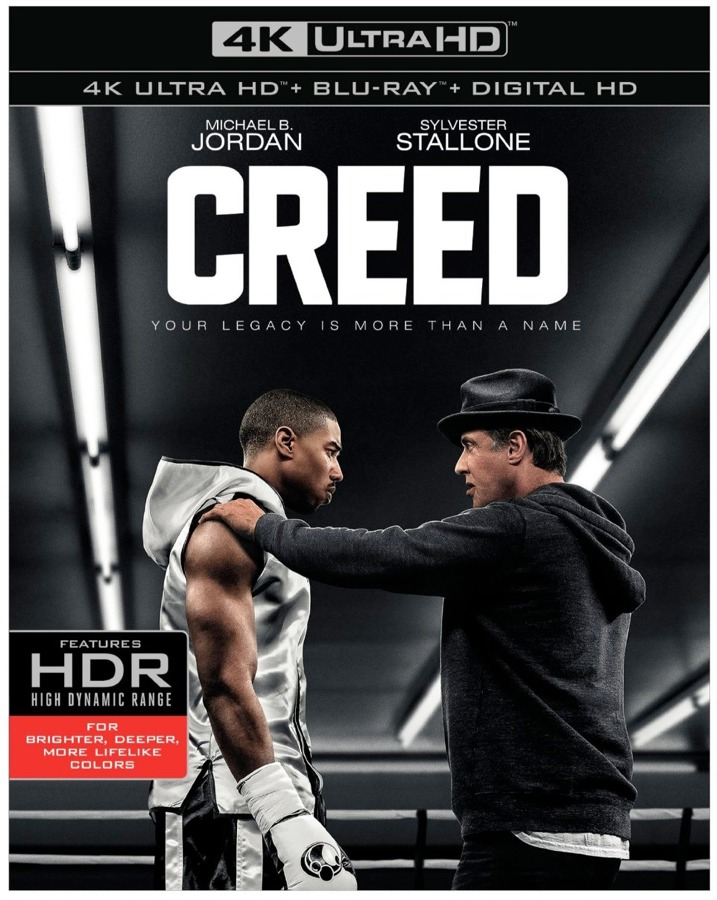 Creed 4K Blu-ray Cover