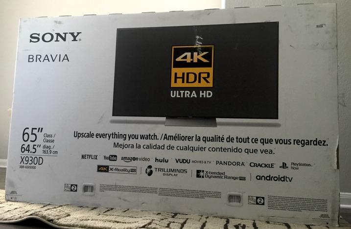 Sony 4K XBR65930D 4