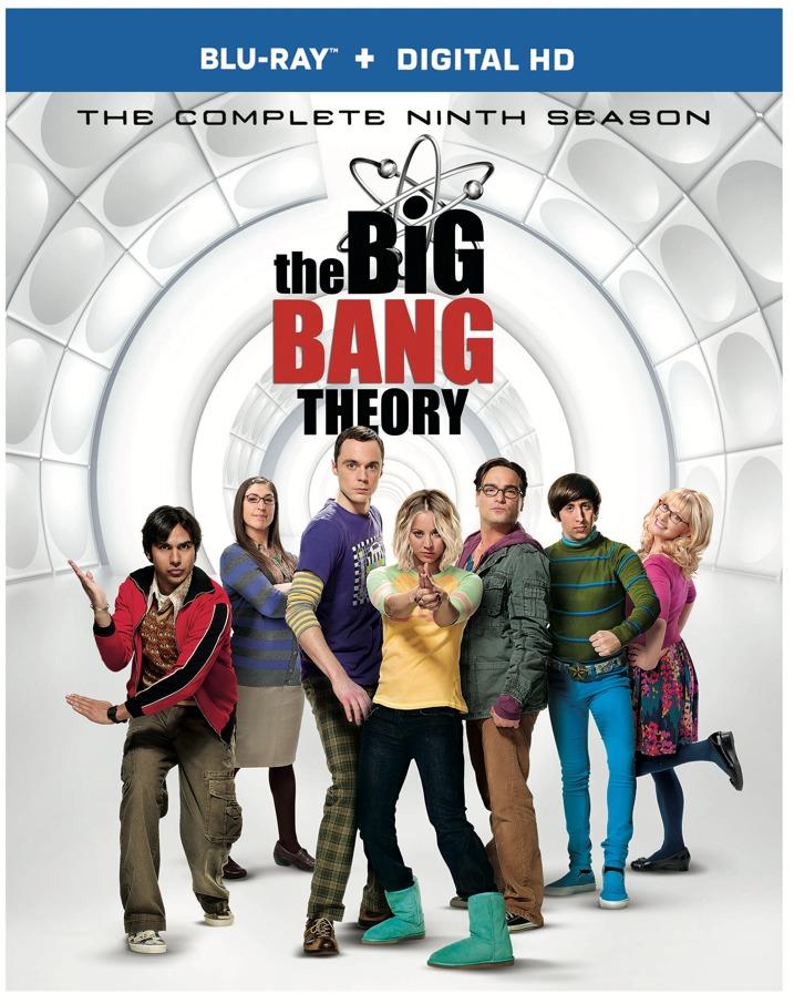The Big Bang Theory Season Nine Blu-ray Cover