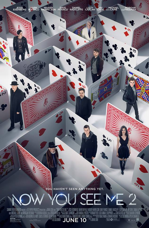 now you see me 2 poster 2