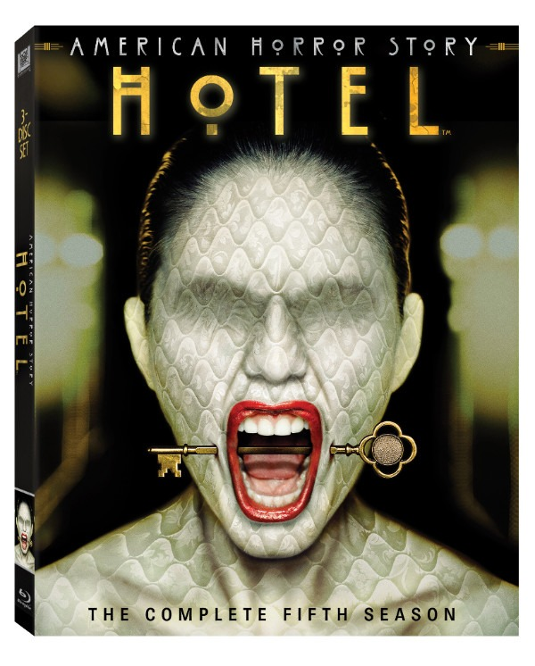 American Horror Story Hotel Blu-ray Cover Art