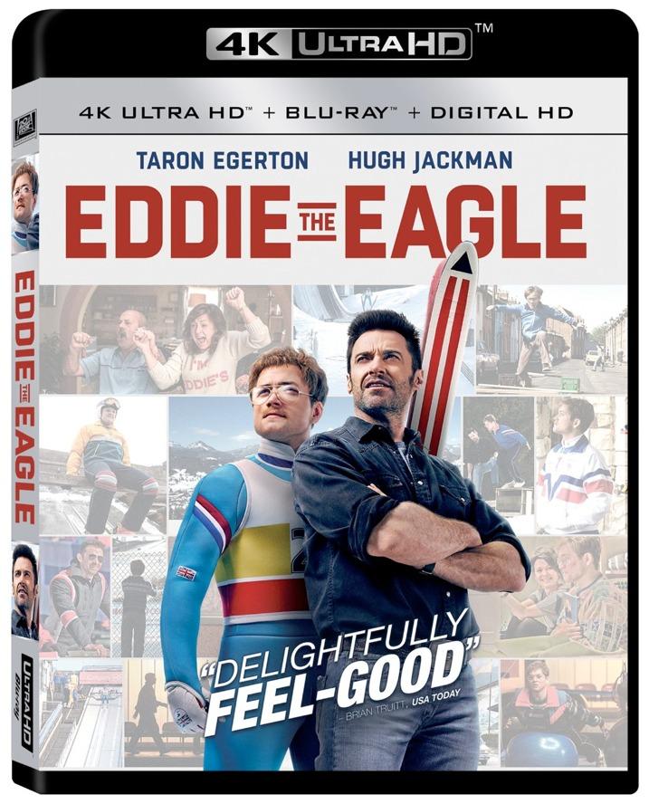 Eddie the Eagle 4K Blu-ray Cover