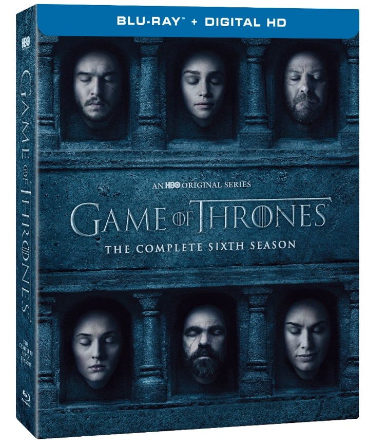 Game of Thrones Season 6 Blu-ray Cover Art