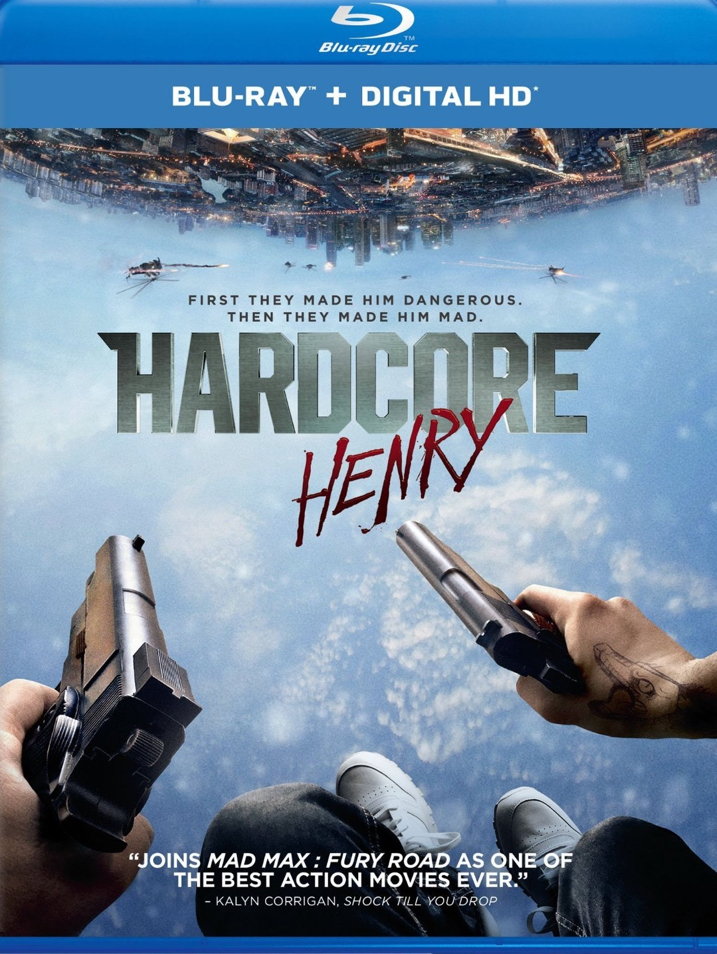 Hardcore Henry bluray