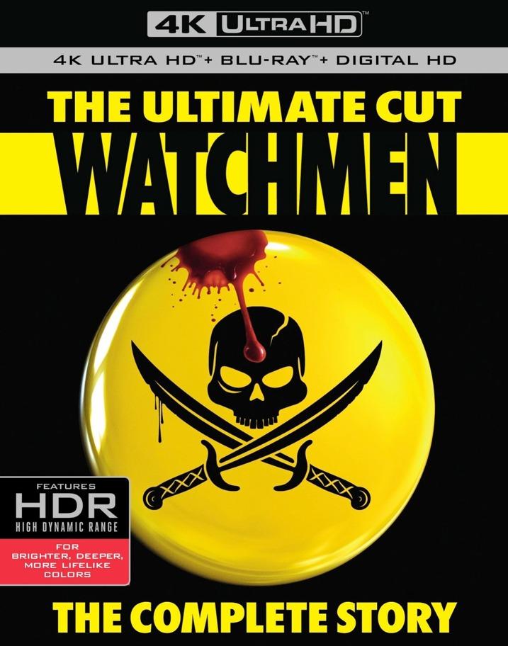 Watchmen The Ultimate Cut 4K UHD Blu-ray