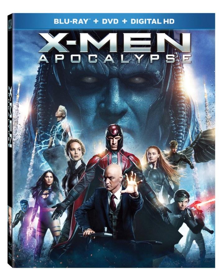 X-Men Apocalypse Blu-ray Cover