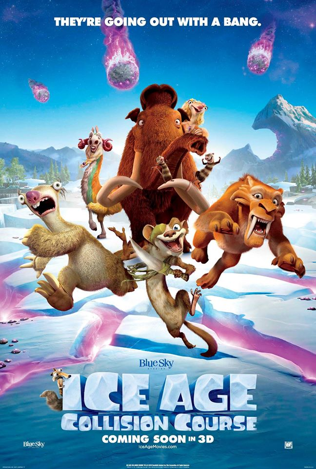 ice age 5 poster 2