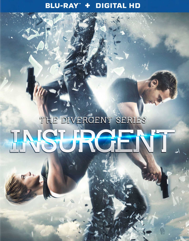 Insurgent Blu-ray