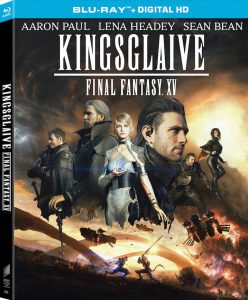 Kingsglaive: Final Fantasy XV Debuting on Digital Aug. 30th and on Blu-ray & DVD Oct. 4th!