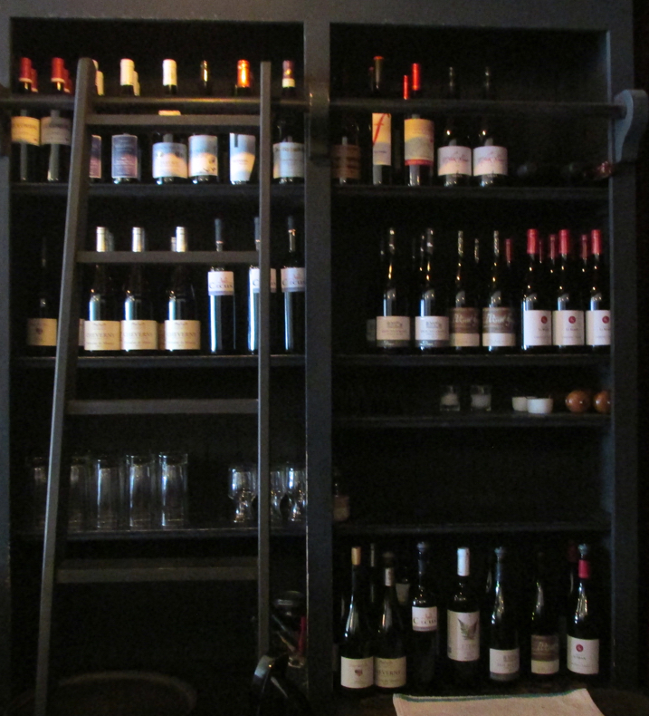 Nothing says happy time more than a stocked wine rack!