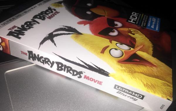 Angry Birds Movie 4K Slipcover