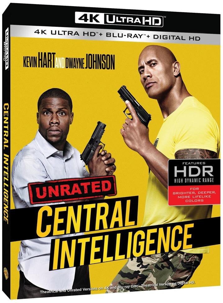 Central Intelligence 4K Blu-ray