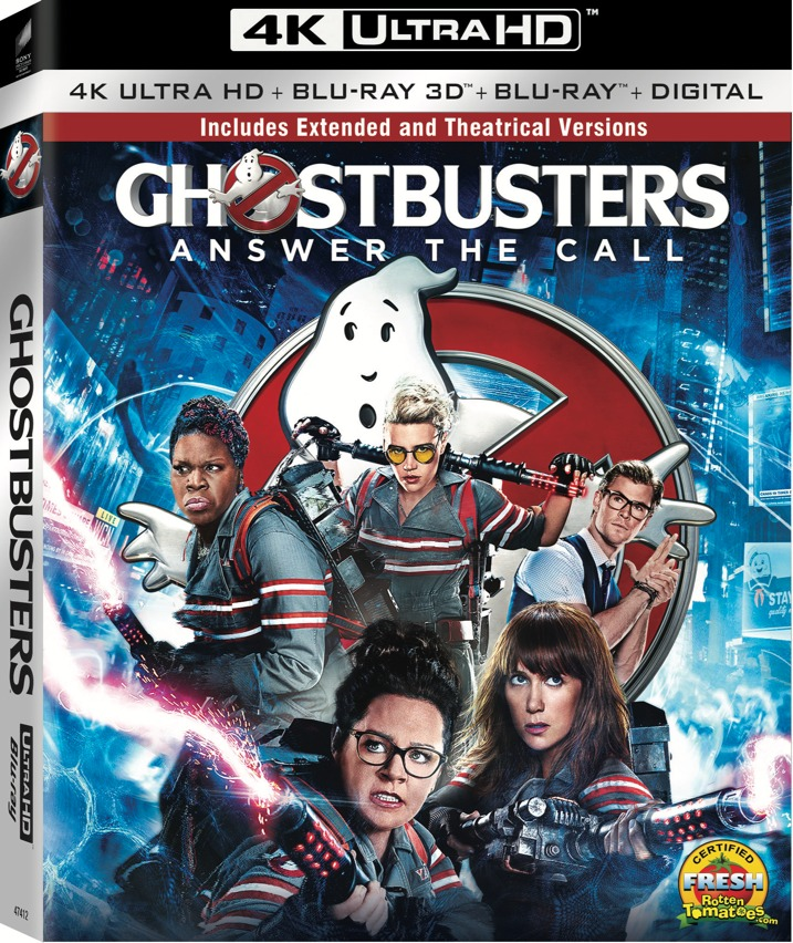 Ghostbusters 4K Blu-ray Cover