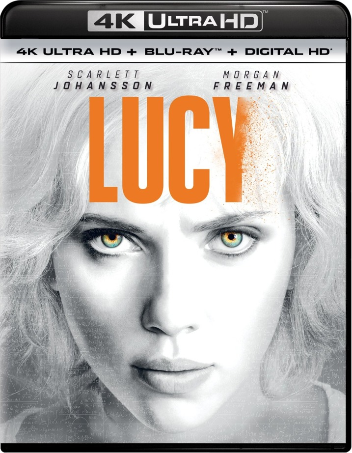 Lucy 4K Blu-ray Cover