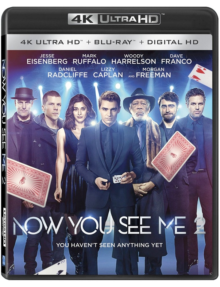 Now You See Me 2 4K Blu-ray
