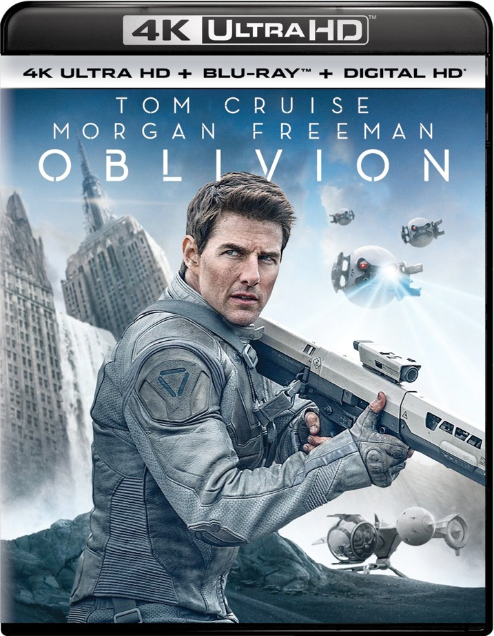 Oblivion 4K Ultra HD Blu-ray Cover