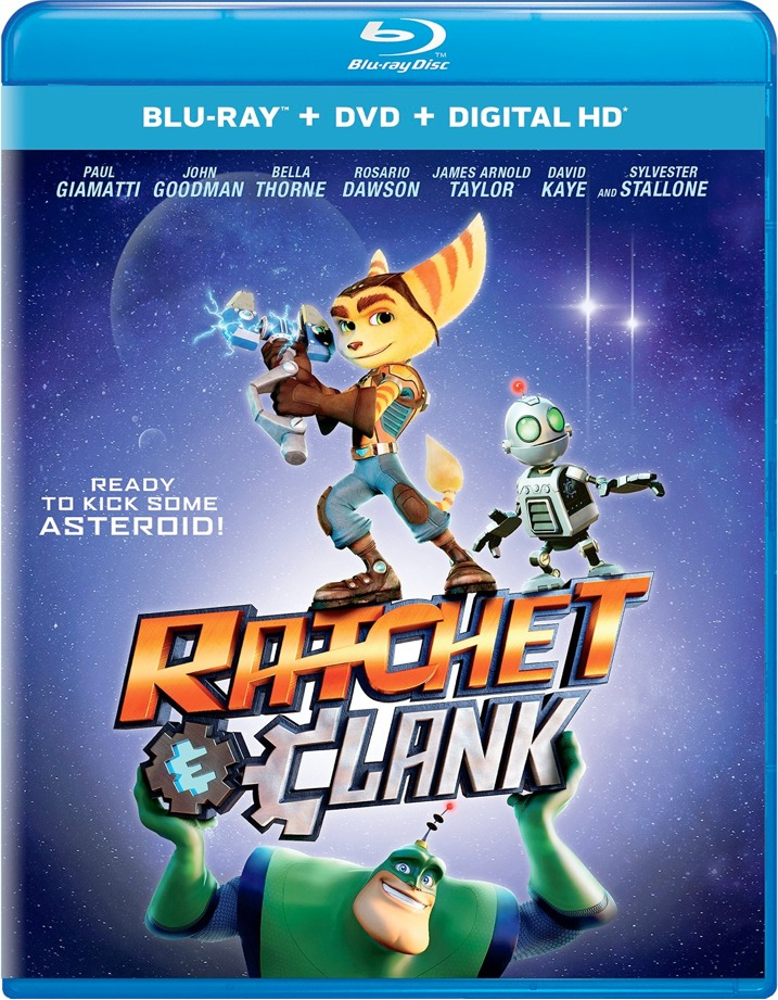 Ratchet & Clank Blu-ray Cover Art