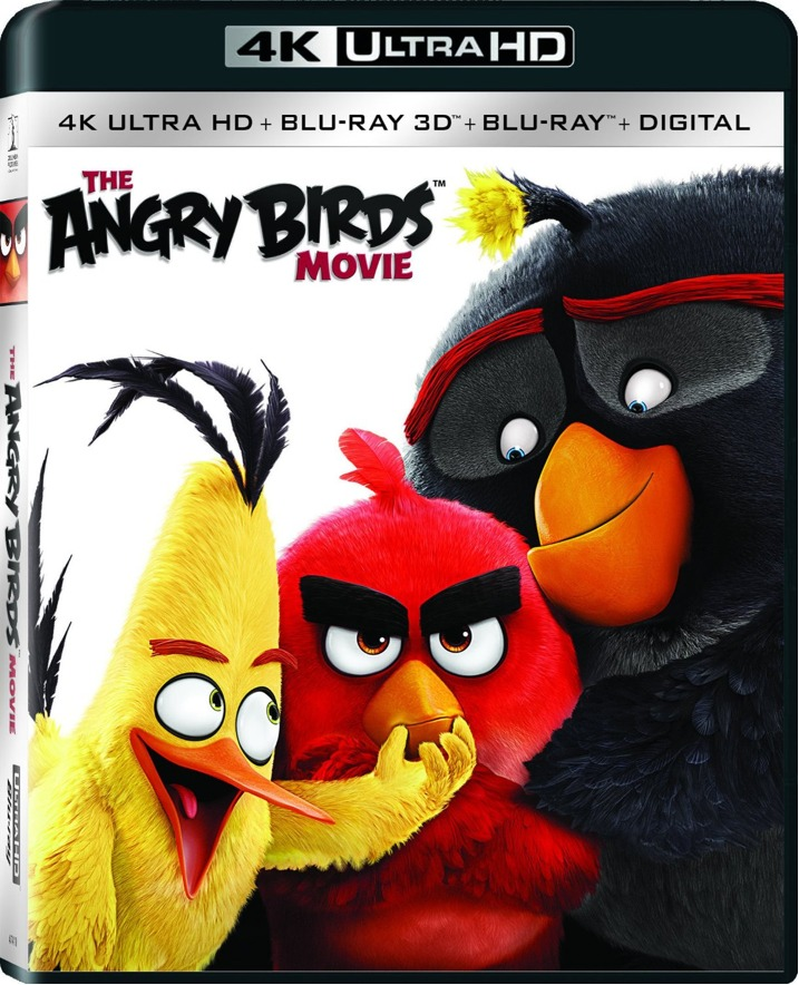 The Angry Birds Movie 4K Blu-ray Cover