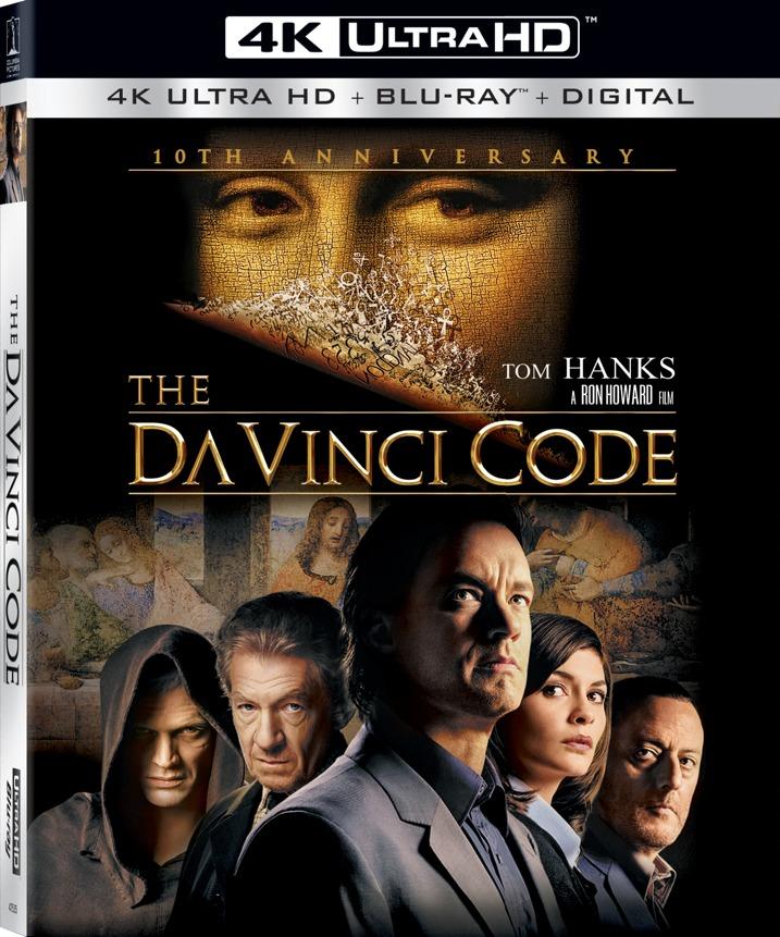 The Davinci Code 4K Blu-ray