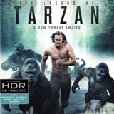 The Legend of Tarzan 4K Blu-ray