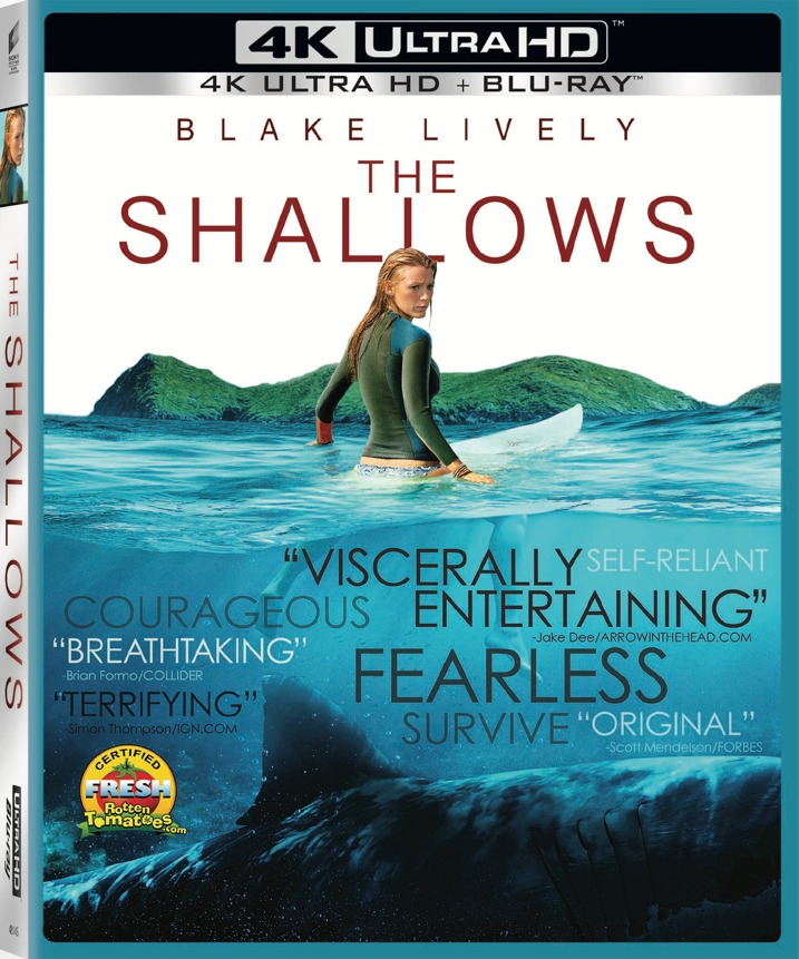 The Shallows 4K Blu-ray Cover