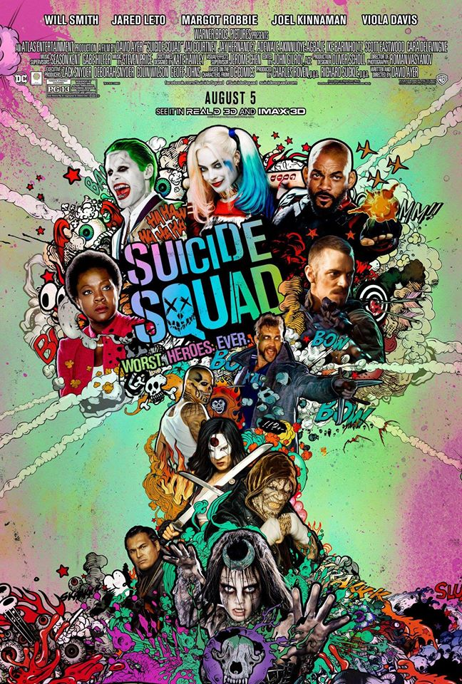 suicide squad poster 2