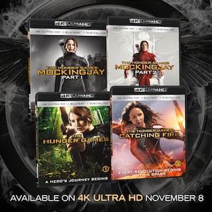 Hunger Games 4K pack