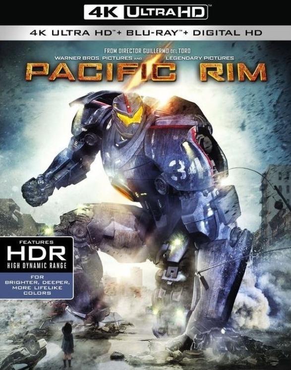 Pacific Rim 4K Ultra HD Blu-ray Cover