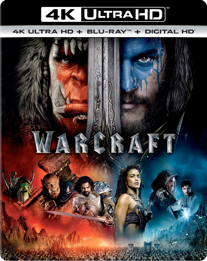 Warcraft 4K Ultra HD Blu-ray Cover