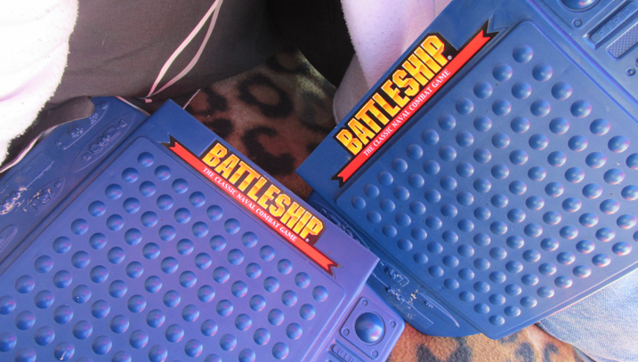 Keeping busy with games and what not - yeah, Will Battleship beat me two out of three!