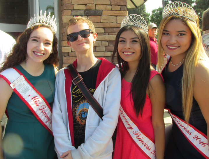 "Will gets admired by three Miss Downey Princess's in attendance. (""He looks like Doogie Howser!"")"