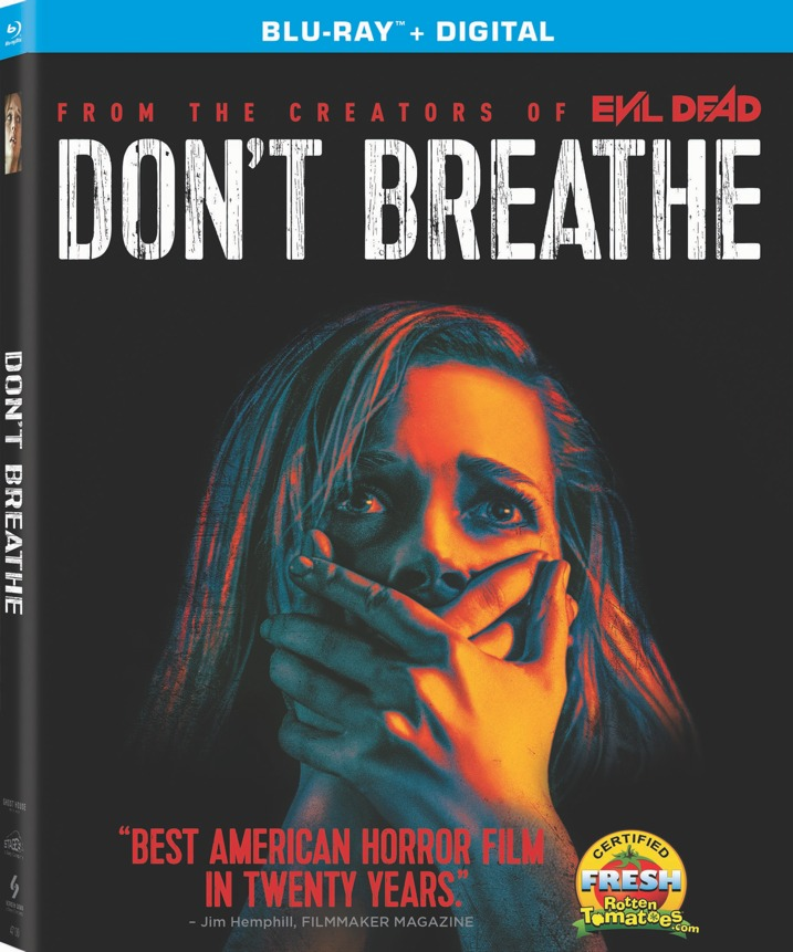 Don't Breathe Blu-ray Cover Art