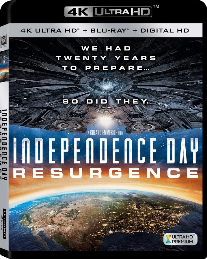 Independence Day Resurgence 4K Blu-ray Cover Art