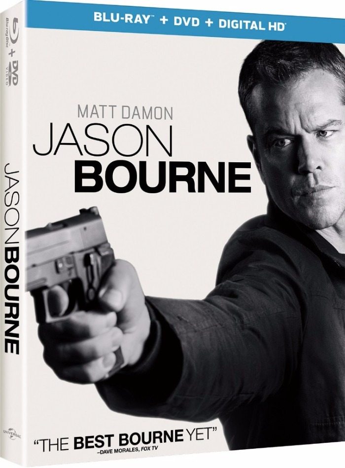 Jason Bourne Blu-ray