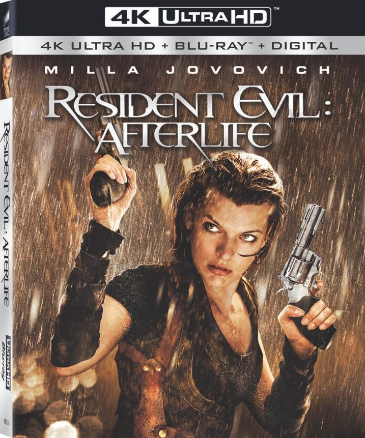 Resident Evil: Afterlife 4K UHD