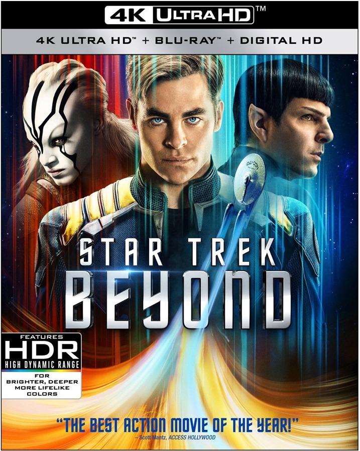 Star Trek Beyond 4K Blu-ray Cover