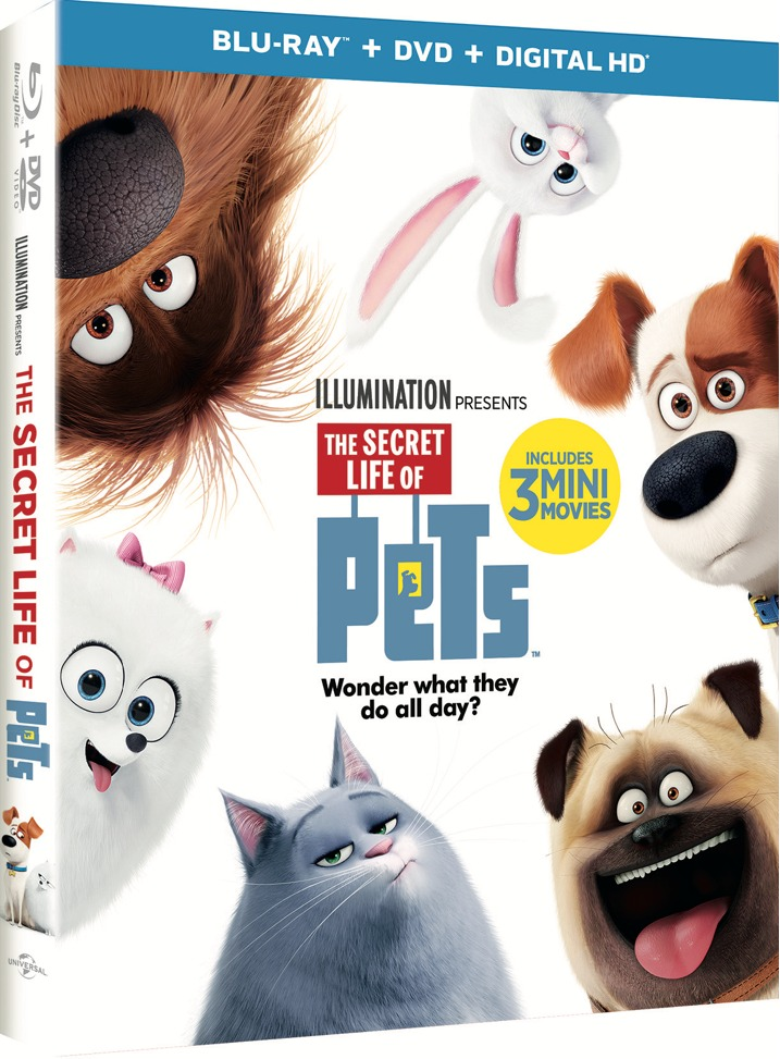 The Secret Lives of Pets Blu-ray